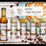 monin 5 pack mini syrup